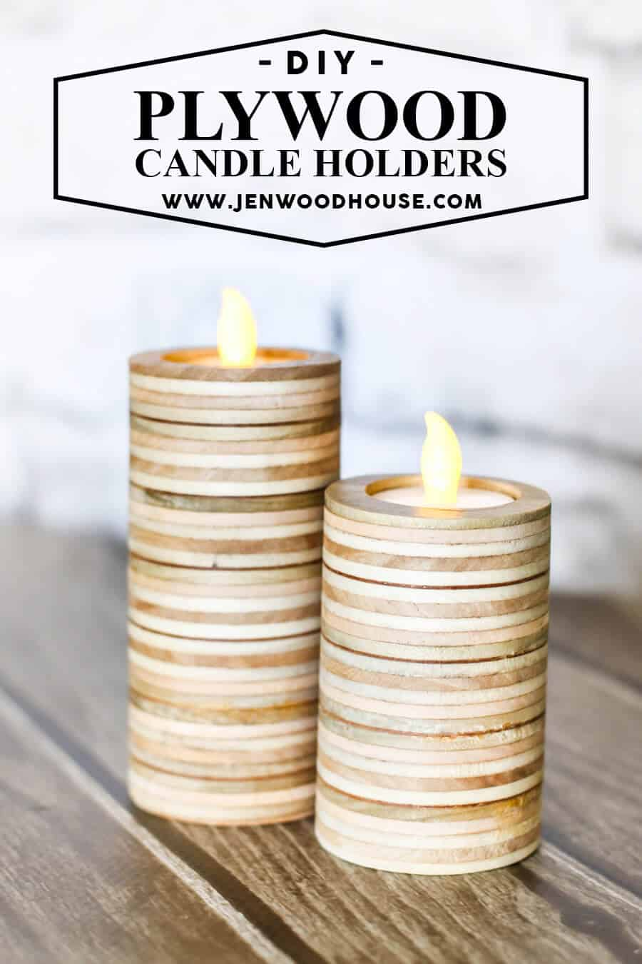 20 Crafty DIY Candle Holder Ideas to Warm Up Your Home