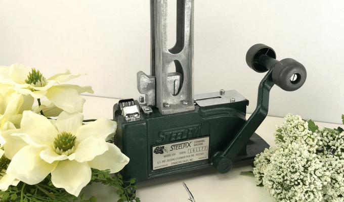 How to Use a Steel Pick Machine for Wreath Making