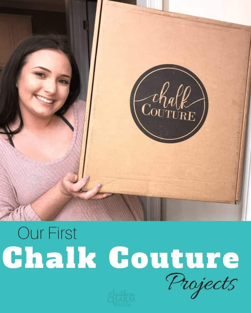 Our first Chalk Couture Projects - Southern Charm Wreaths