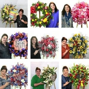 Wreath making of the month blog sidebar
