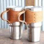 Perfect holder for your yeti mugs.