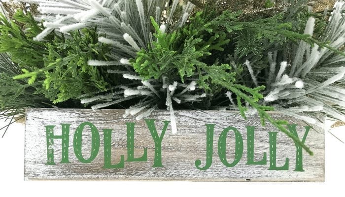 Using a few basic tools, learn how to make a designer Christmas Table Centerpiece for your home by Southern Charm Wreaths.
