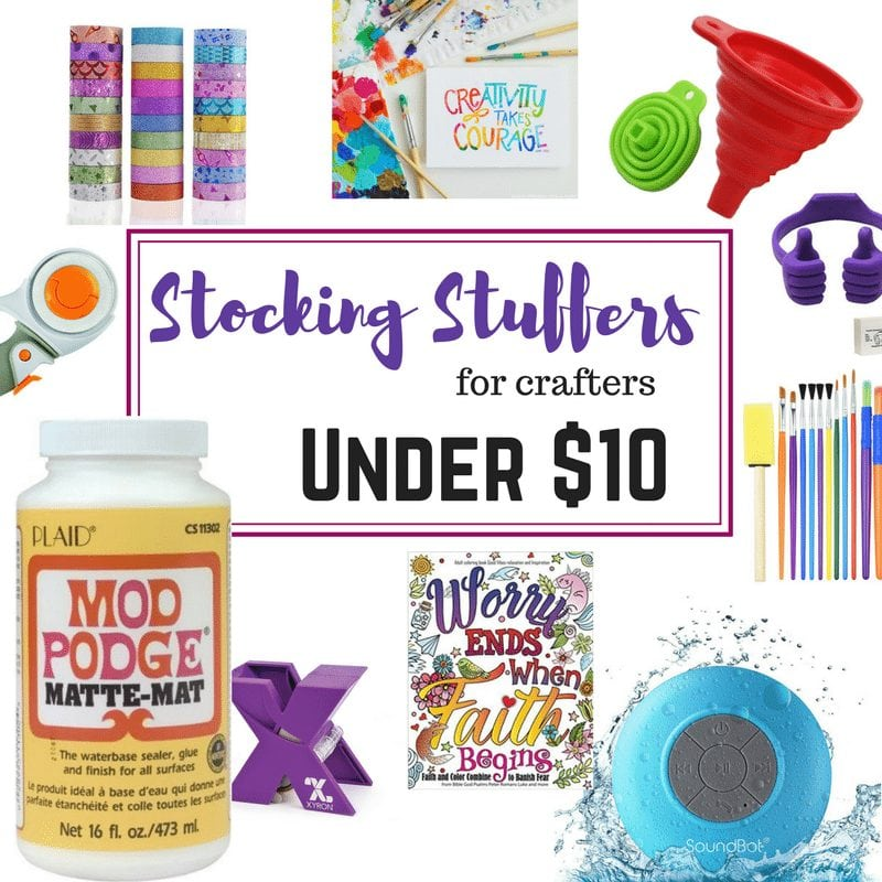 Stocking Stuffer Ideas Under $10 for Crafters