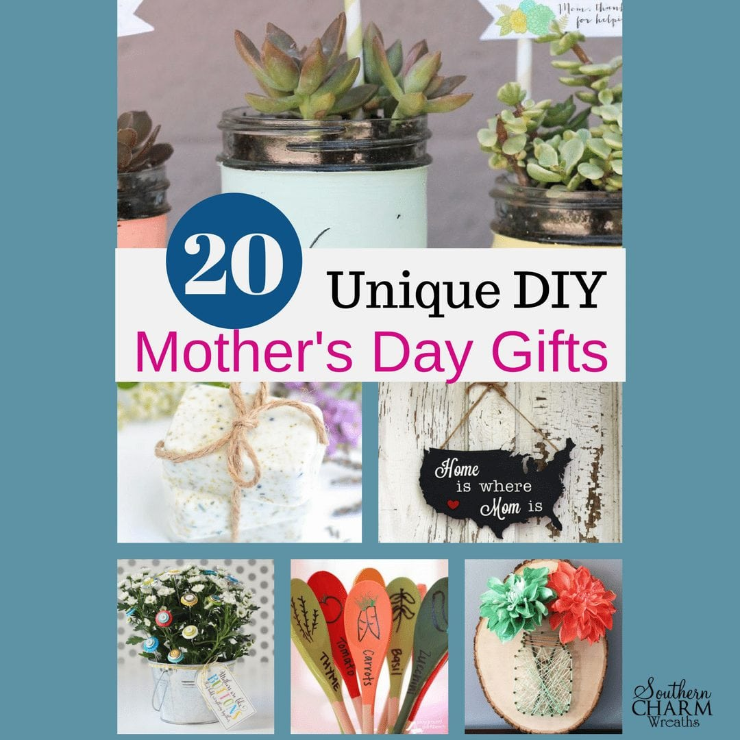 Mothers Day Gifts Diy: 20 Unique DIY Mother's Day Gift Ideas She'll Treasure
