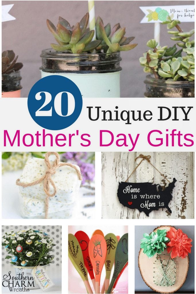 20 Unique Diy Mother S Day Gift Ideas She Ll Treasure