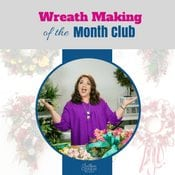 Learn the art of wreath making from the comfort of your home with Southern Charm Wreaths