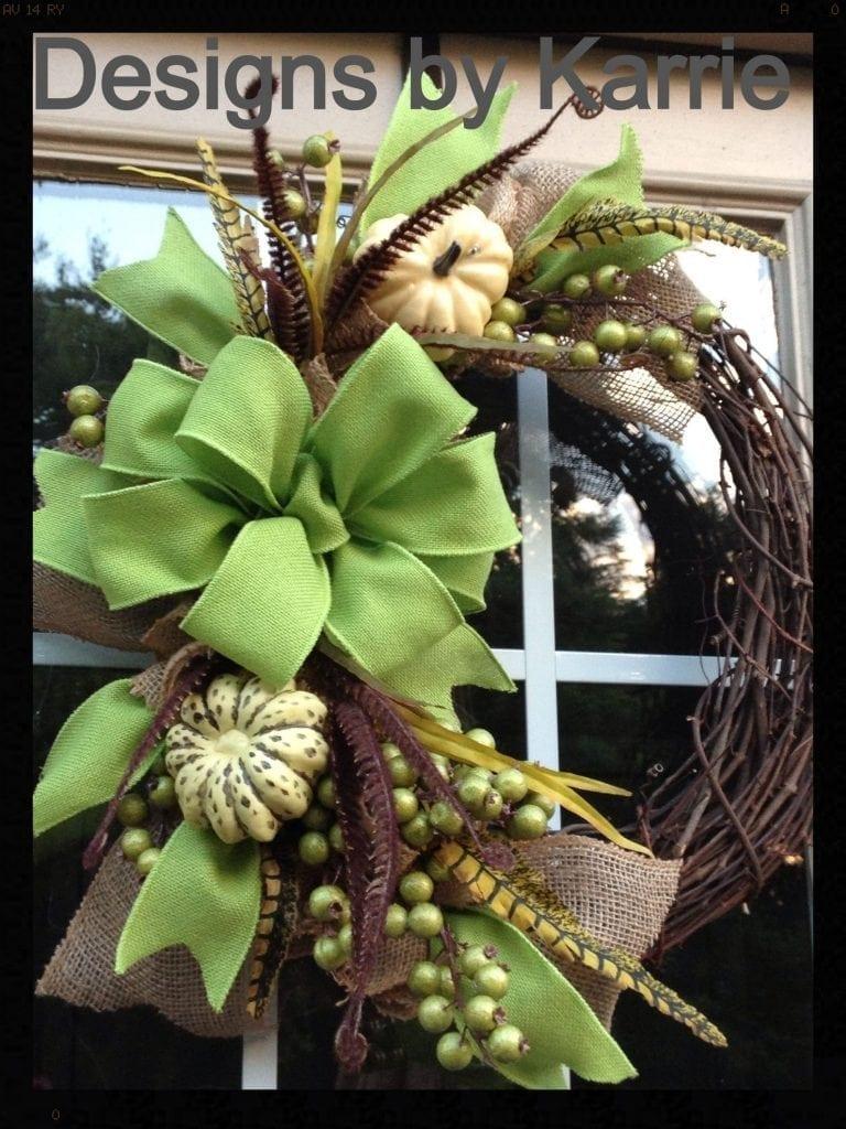 20 Best Diy Fall Wreath Ideas For Your Front Door