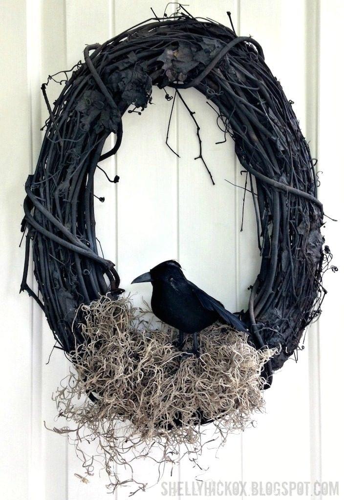 15 Best Diy Halloween Wreath Ideas Southern Charm Wreaths