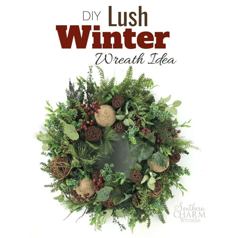 DIY Lush Winter Wreath Idea for Front Door-blg2