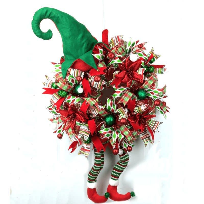 deco mesh elf wreath ebook