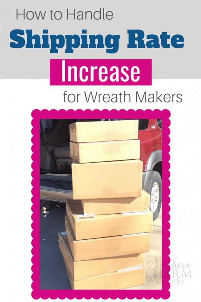 In this video, learn ways to save money and handle shipping rate increases for wreath makers.