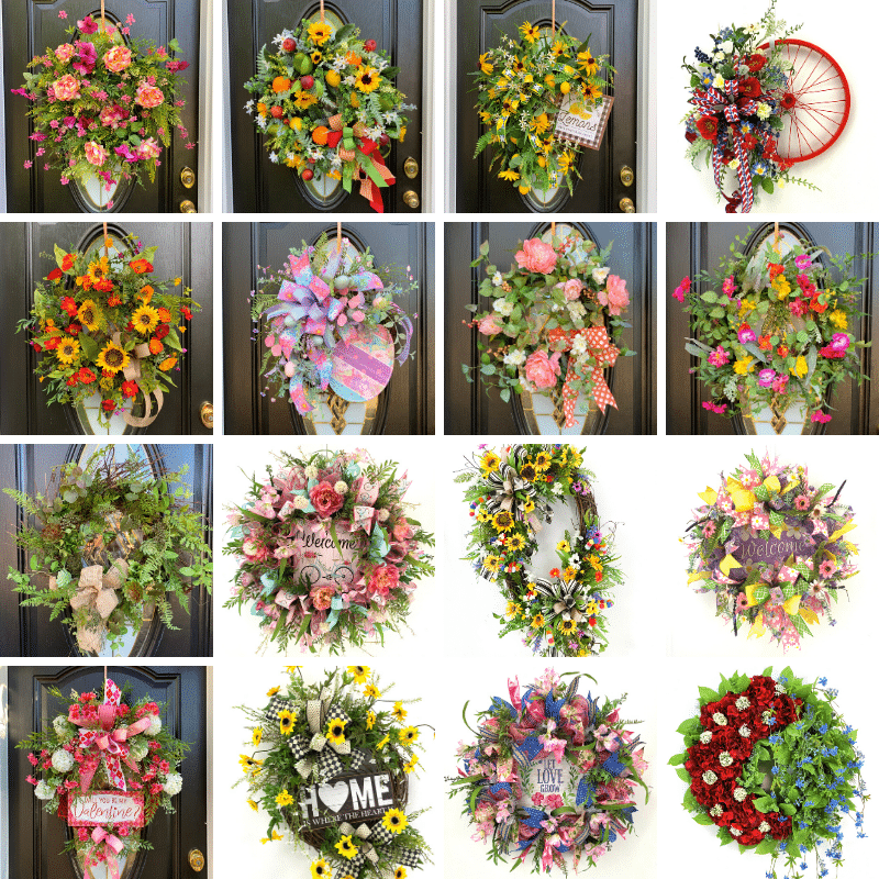 Learn how to make wreaths by professional wreath maker and start a wreath business.