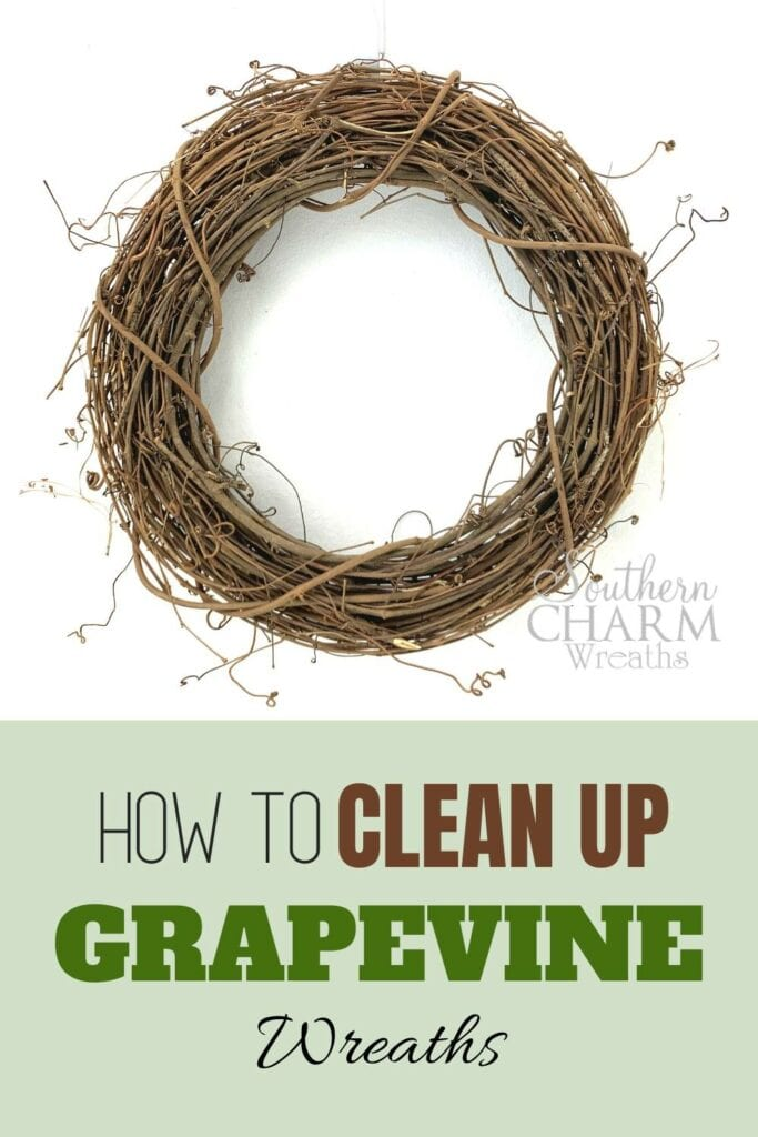 How to Clean Up Grapevine wreaths