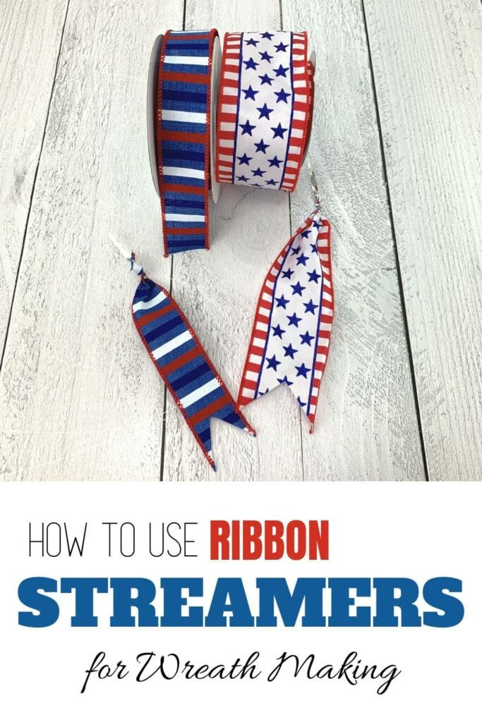 """How to Use Ribbon Streamers for Wreath making"""