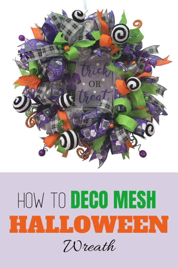Diy Halloween Deco Mesh Wreath With Video Southern Charm Wreaths