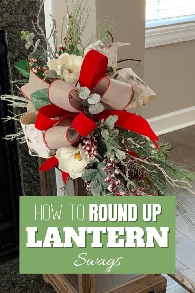 lantern swag ideas