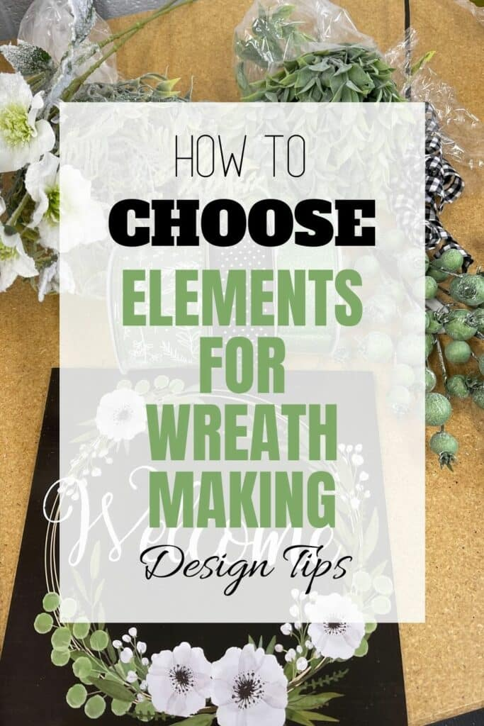 How To Choose Elements For Wreath Making Design Tips